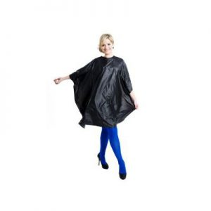 Salon Smart cape Black Colour Me Pvc