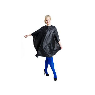 Salon Smart cape Black Colour Me Pvc
