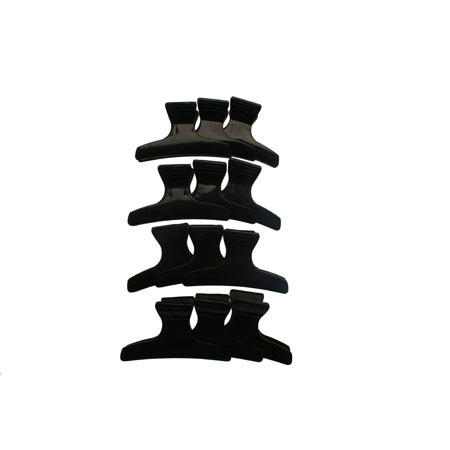 Butterfly Clamp Black 12Pk