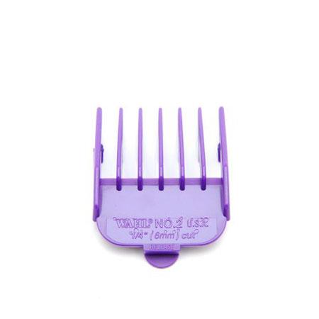 #2 Plastic Tab Clipper Att Purple