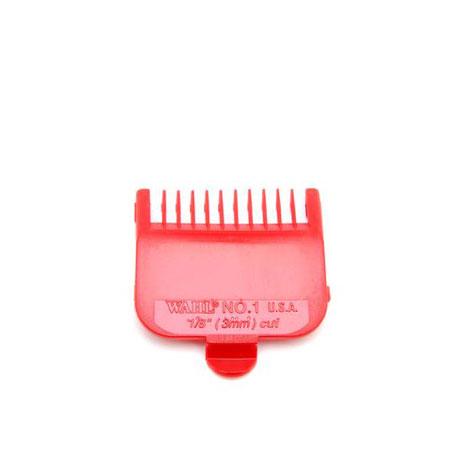 #1 Plastic Tab Clipper Att Red