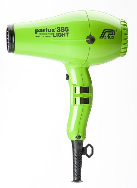 Parlux 385 Power Light Ceramic and Ionic Hair Dryer Green