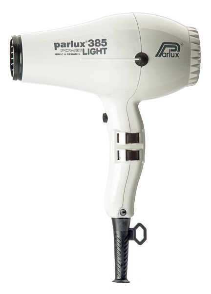 Parlux 385 Power Light Ceramic and Ionic Hair Dryer White