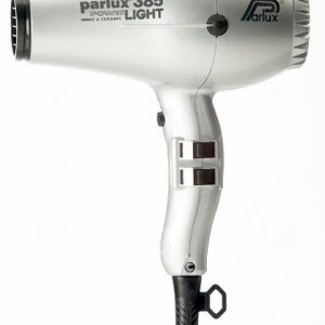 Parlux 385 Power Light Ceramic and Ionic Hair Dryer Silver