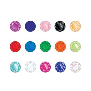 Hawley Diamantes Assorted 25Pack