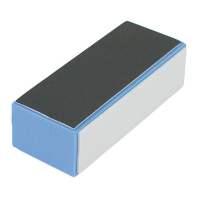 Hawley 3 Way Satin Block Buffer Blue