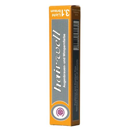 Hairwell Eyelash Tint Light Brown