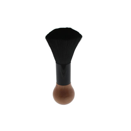 Neck Brush Wooden Handle Black Large