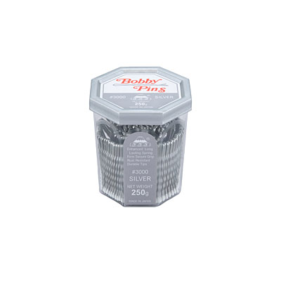 555 Bobby Pin Silver 250Gm
