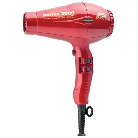 Parlux 3800 Ceramic & Ionic Red