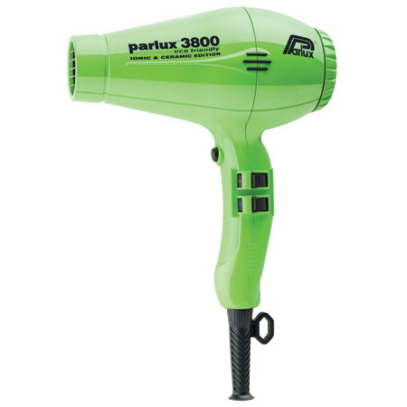 Parlux 3800 Ceramic & Ionic Green
