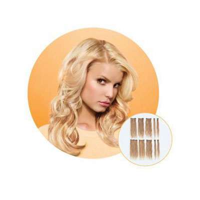 Hairdo 16'' Luxe Lite 10Pc Golden Wheat