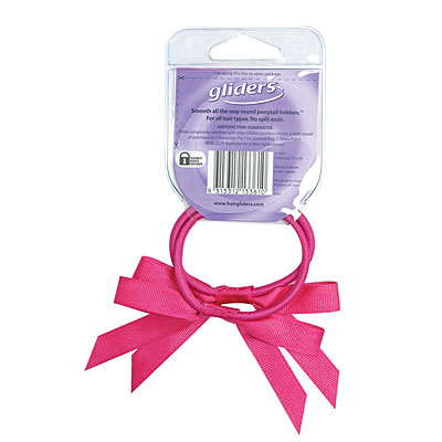 Gliders Twin Bows Pink 2Pc