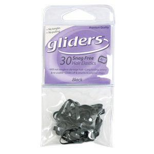 Gliders Snag Free Black 30Pc 4Mm