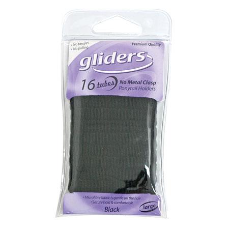 Gliders Tubes Metal Free Black 16Pcs