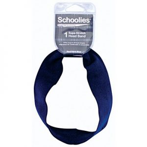 Schoolies Headband Dark Blue
