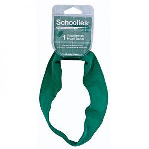 Schoolies Headband Green