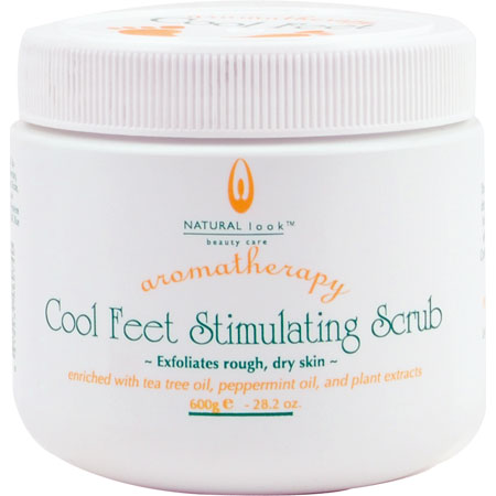 Natural Look Cool Feet Scrub 600Gm