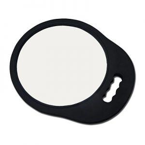 Mirror Eva Foam Round Black
