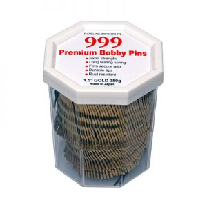 "999 Bobby Pin Gold 1 1/2"" 250Gm"