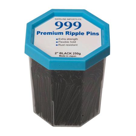999 Ripple Pins 2'' Black