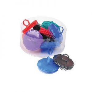 Dateline Massage Brushes 12Pc Multi-Coloured