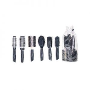 Salon Pro Brush Pack Black