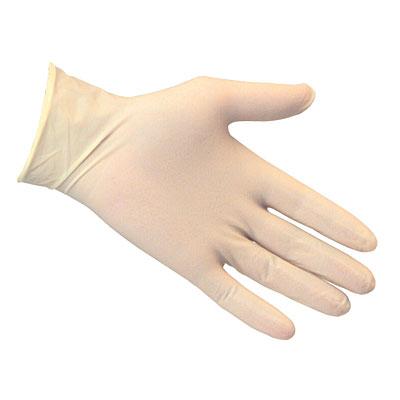 Latex Gloves Medium 100Pc
