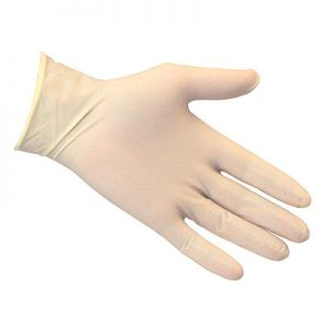 Latex Gloves Small 100Pc