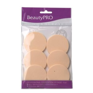 Beautypro Foundation Sponge 6Pc