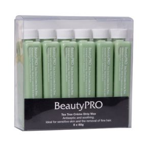 Beauty Pro Wax Tea Tree 6x100Gm