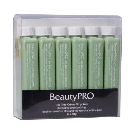 Beauty Pro Wax Tea Tree 6x100Gm