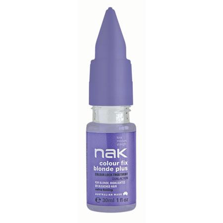 Nak Colour Fix Blonde Plus Treatment 30Ml