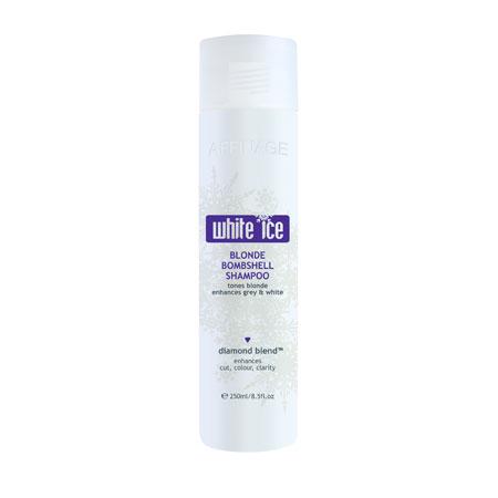 Affinage White Ice Blonde Bomb Shampoo 1Lt