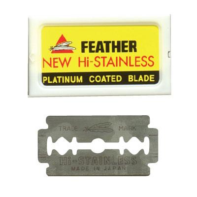 Feather Double Edge Blades 5Pk