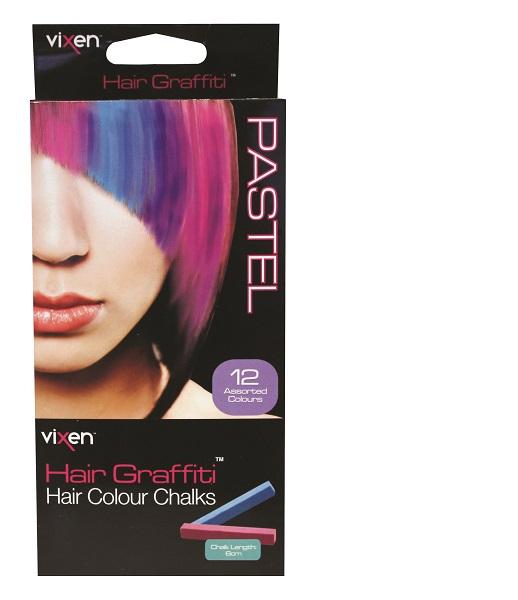 Vixen Hair Colour Chalks Pastel
