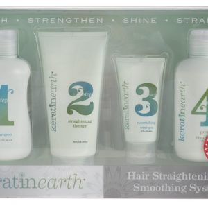 Keratin Earth Hair Straightening & Smoothing System
