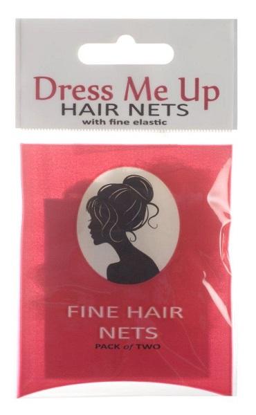 Hair Net Medium Brown 2 Pack