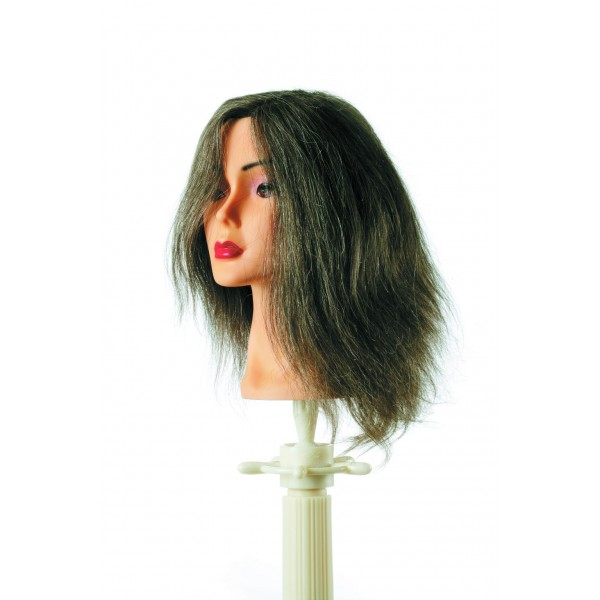 Mannequin Natural Grey Hair Human Hair