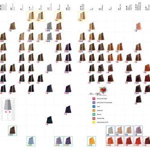 Affinage Infiniti Shade Chart