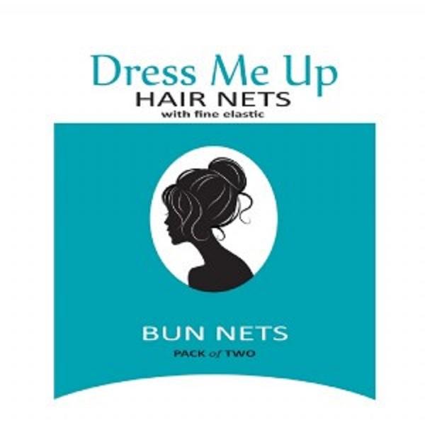 Dress Me Up Bun Net Black