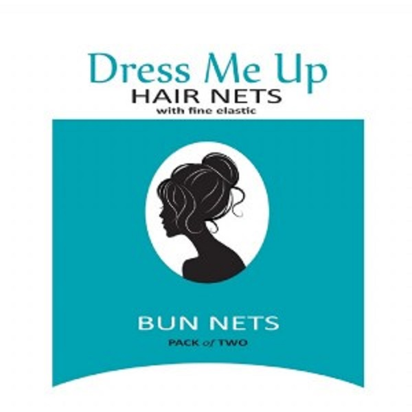 Dress Me Up Bun Net Medium Brown