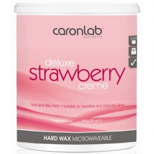 Caron Deluxe Strawberry Creme Hotwax 800Gm