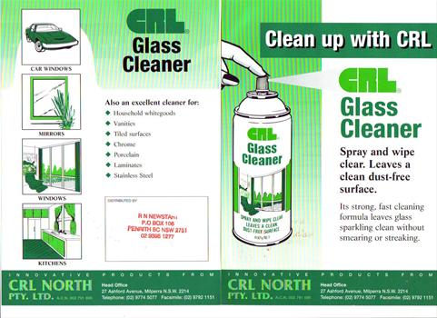 CRL Glass Cleaner 400gm