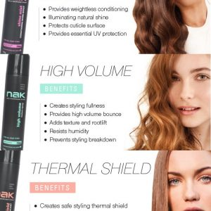 Nak Styling Trio Shine Thermal Volume