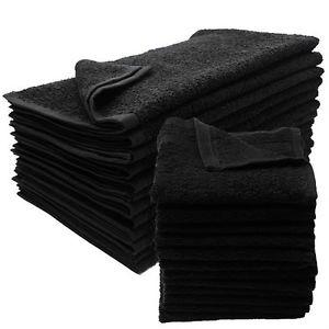 Salon Smart Premium 12Pk Black Towels