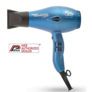Parlux Advance Light ceramic & Ionic Matt Blue