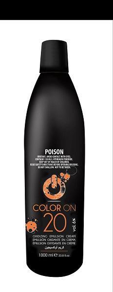 COLOR ON Peroxide 1ltr 20VOL
