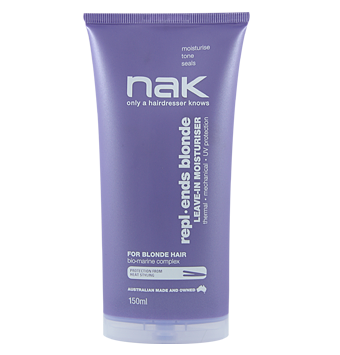 NAK Repl ends Blonde Leave in Moisturiser 150ml