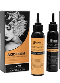 iPerm Robert Desoto ACID Coloured and Damaged Hair